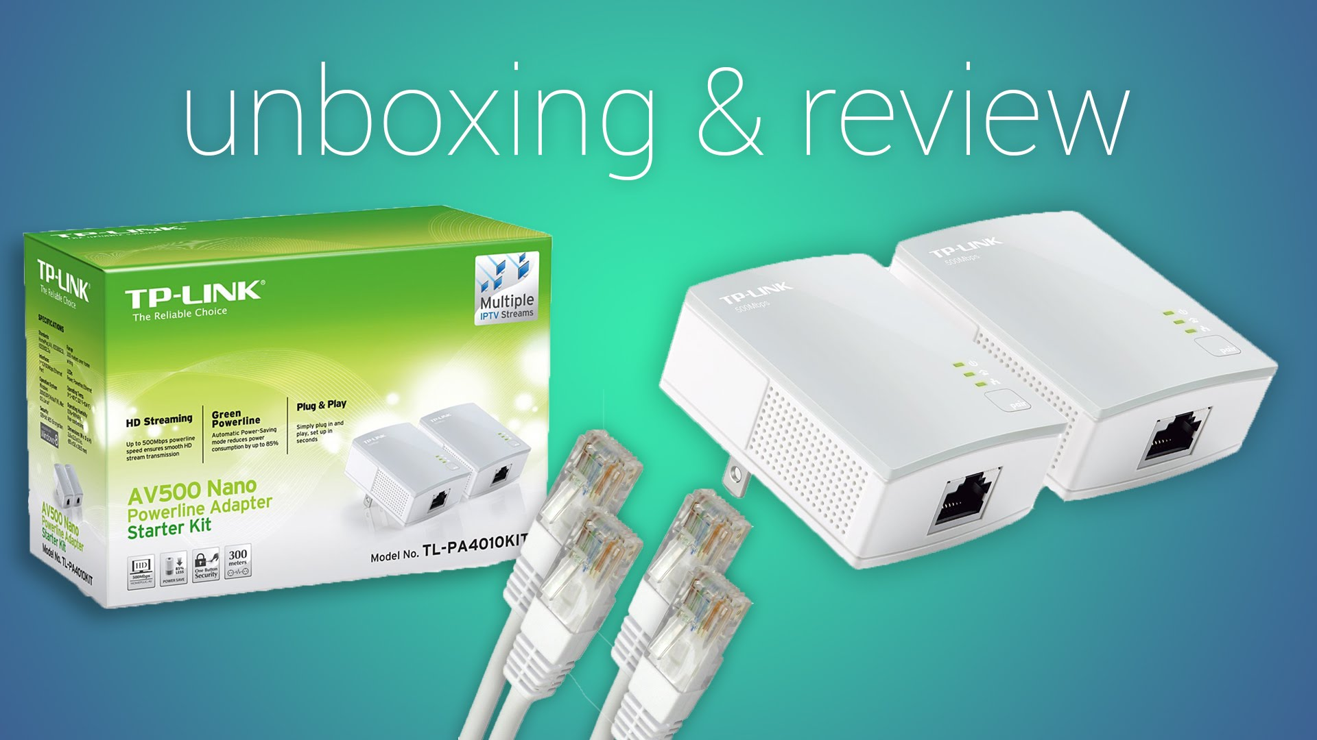 TP-Link TL4010 Powerline Kit – Unboxing and Review