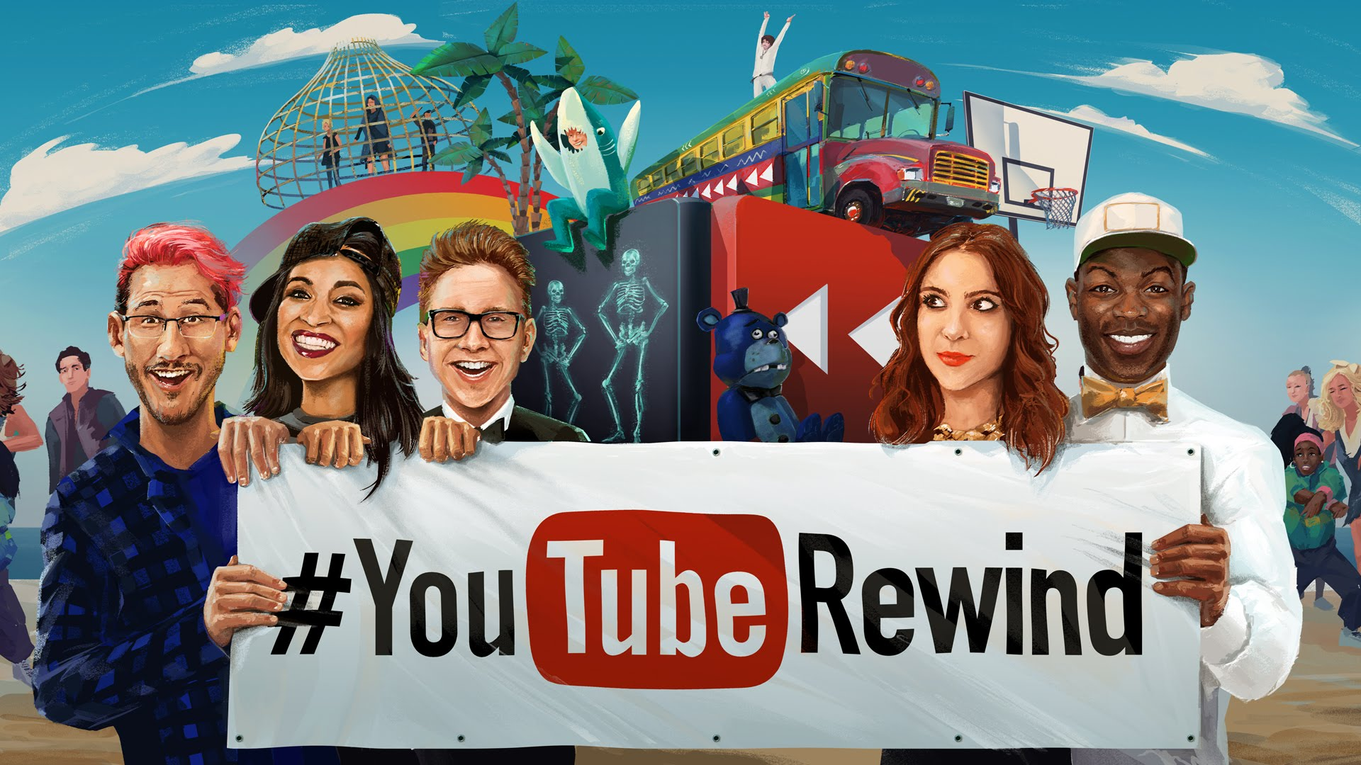 YouTube Rewind 2015 has dropped!